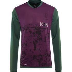 ION Scrub_Amp Longsleeve T-shirt Heren, green seek